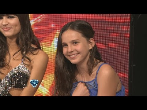 Showmatch 2014 Las travesuras de la hija de Tinelli en la pista de Showmatch