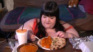 Chicken Tikka Masala Indian Food Mukbang (Eating Show)