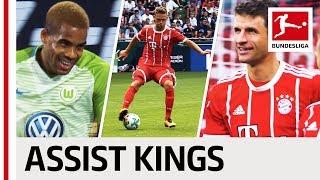 Top 5 Assisters - 2017/18 Season So Far