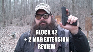 Glock 42 +2 Mag Extension From The Glock Store Review