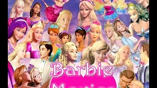 Barbie movies from 2001 to 2015