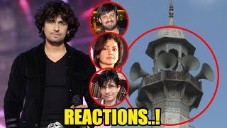 Check out the reactions on Sonu Nigam