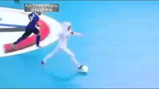 What a goal this is from the Iran women