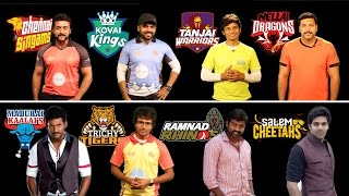 Natchathira Cricket! Team INTRO :D | MADRAS CENTRAL