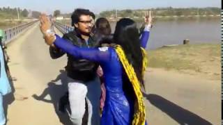 khawaja Sara dancing With Young Boys on Canal Road