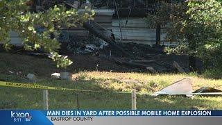 Man found dead in grass after Bastrop home burns