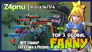 What? That's Z4pnu? Time to Surrender? Z4pnu Ranked 3 Global Fanny ~ Mobile Legends