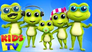 Frog Finger Family   Nursery Rhymes for Kids   Baby Songs   Children Rhymes