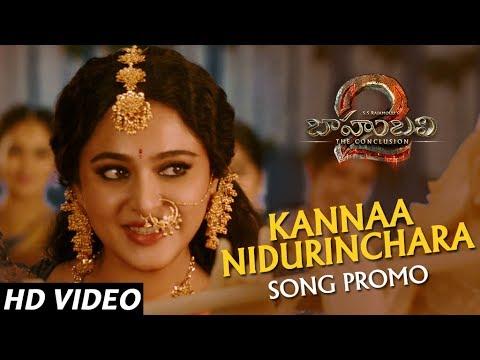 Kannaa Nidurinchara Song Promo - Baahubali 2 Telugu | Prabhas, Anushka Shetty