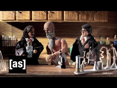Harry Potter and the Professor Who Broke Bad Complete Robot Chicken Adult Swim