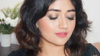 Easy Budget Makeup Tutorial - Indian Party Makeup   corallista