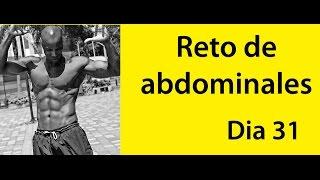 ABDOMINALES EN 30 DIAS ( RETO DIA 31)