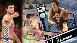 NBA 2K17 My Team - Diamond Pete Maravich Won