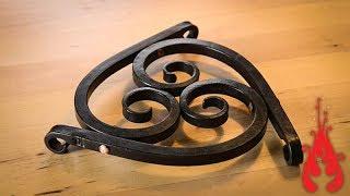 Blacksmithing - Forging a trivet