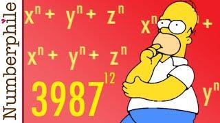 Homer Simpson vs Pierre de Fermat - Numberphile