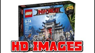 FIRST SET IMAGES - The LEGO Ninjago Movie (2017)