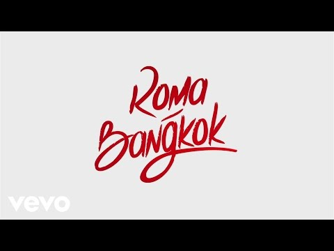 Baby K Roma Bangkok Lyric Video ft. Giusy Ferreri