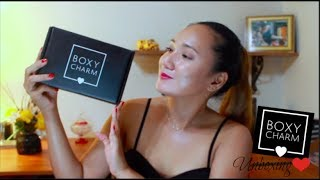 AUGUST BOXYCHARM UNBOXING|2017