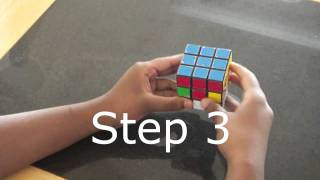 Step by Step Guide on How to Solve the Rubik's Cube