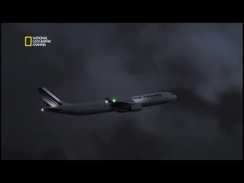 Air France Flight 447 Crash Animation