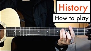 One Direction - History | Guitar Lesson (Tutorial) Chords