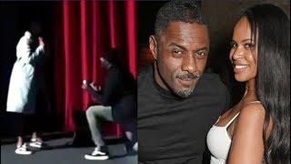 Idris Elba proproses to girlfriend Sabrina Dhowre. SO SWEET!