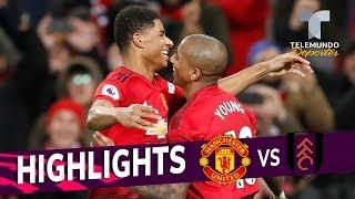 Manchester United vs. Fulham: 4-1 Goals & Highlights | Premier League | Telemundo Deportes
