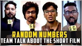 Random numbers team talk about the short film