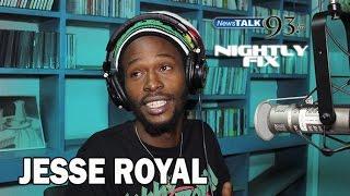 Jesse Royal talks working with Major Lazer's Walshy Fire + Chronixx on Tonight Show on Nightly Fix
