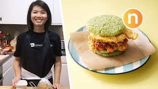 LIVE Cooking REAL Nasi Lemak Burger uploaded on 3 month(s) ago 25785 views