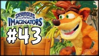 Skylanders Imaginators - Gameplay Walkthrough - Part 43 - Crash Bandicoot!