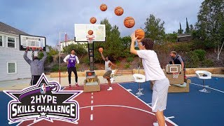 INSANE BASKETBALL OBSTACLE COURSE NBA SKILLS CHALLENGE!!