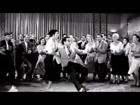 Real 1950s Rock & Roll Rockabilly dance from lindy hop