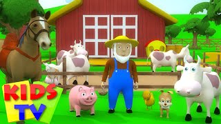 Kids TV Nursery Rhymes   Old MacDonald had a Farm   old macdonald for kids   kids tv songs