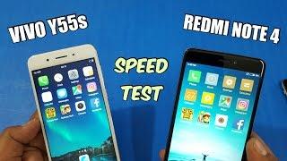 ViVo Y55s vs Redmi Note 4 Speed Test Comparison | TechTag