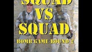 DesertFox Airsoft: Squad vs Squad Bomb Game; Round 2 (Gameplay Commentary)