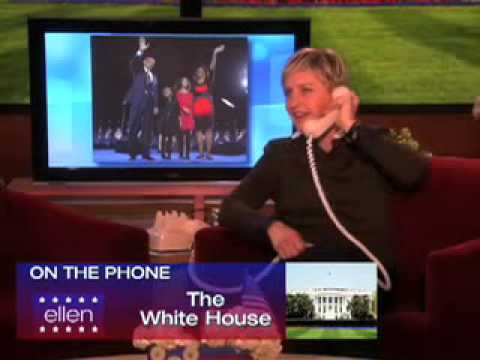 Ellen Calls The White House
