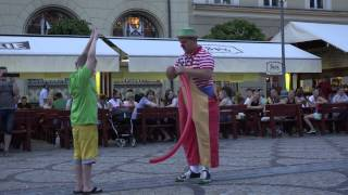 Pepe The Clown - VERY FUNNY clown on street (Poland 2014), 4k