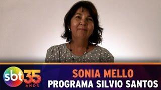 Colaboradora Sonia Mello - Programa Silvio Santos