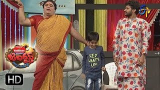 Hyper Aadi Raising Raju Performance   Jabardasth   15th December 2016  ETV  Telugu