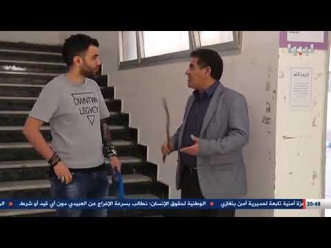 مسلسل بحواسه الفنان صالح الابيض والفنان احمد الرياني مشهد الكبيده