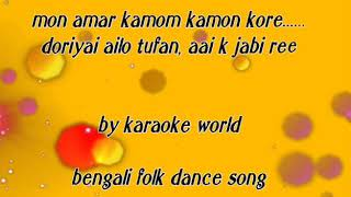 Mon Amar Kemon Kemon Kore O Bodhu Re Karaoke Bengali Karaoke