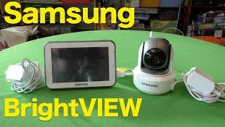 Samsung BrightView Pan/Tilt/Zoom Wireless Video Baby Monitor Review