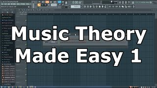 Music Theory Made Easy in FL Studio: p1- Typing Keyboard to Piano Keyboard Mappings