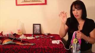 How to sew ELASTIC on a bellydance skirt