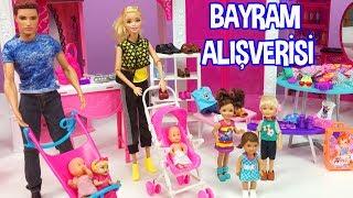 Barbie ve Ailesi Bölüm 129 - Bayram Alışverişi - Çizgi film tadında Barbie oyunları