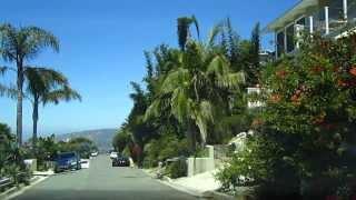 Laguna Beach Drive Dashcam - Alta Vista Way, Solana Way