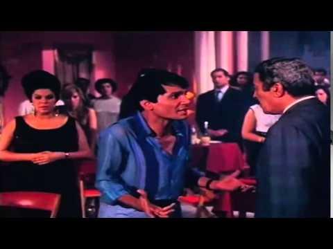 مشهد عماد حمدى وعبد الحليم حافظ آخر مشهد أبي فوق الشجرة 1969