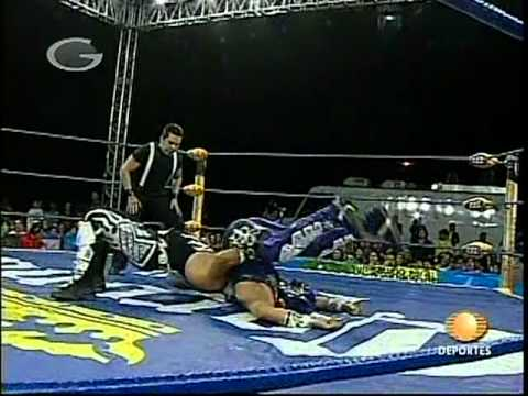 AAA - Abismo Negro vs. Black Abyss, 2009/02/18