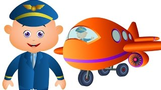 Five Little Babies Flying Planes & Many More Rhymes | Baby Songs | JamJammies Nursery Rhymes
